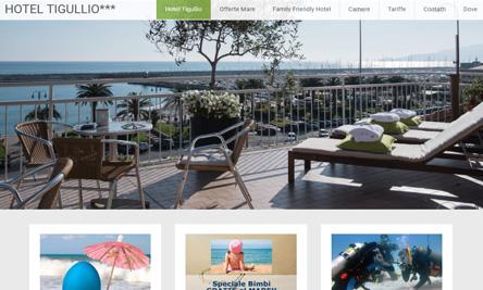 Sito web hotel in Liguria